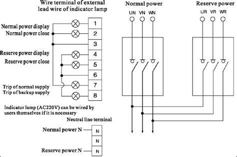 3 phase generator transfer switch wiring diagram get