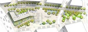 Green Plans Green Square Library And Plaza Lahznimmo Architects