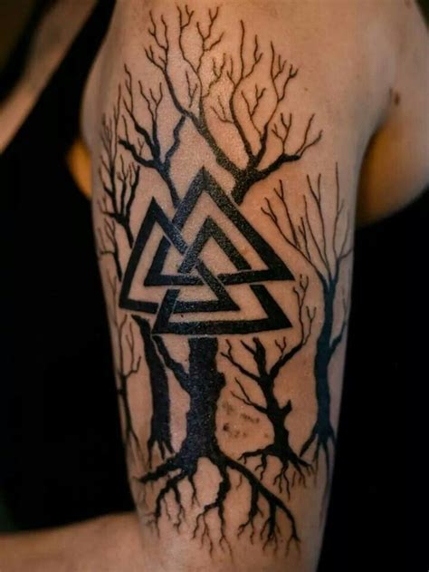 valknut tattoo valknut it viking related