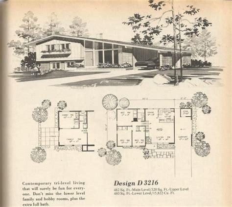 1970s house plans vintage house plans mid century homes 1970s homes vintage house plans 1970s pinterest