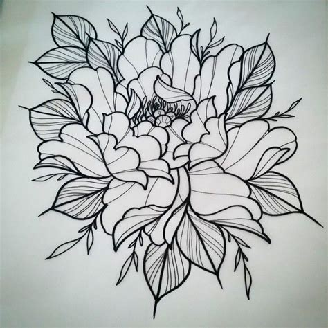 peony rose tattoo designs 317 best images about flowers on hibiscus
