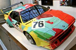 warhol bmw car at toronto 2011 the bmw car
