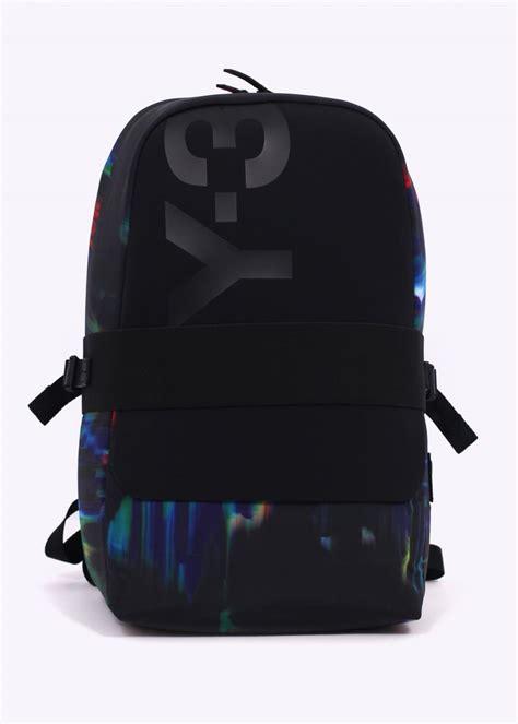 Blackkelly Backpacks 3 y3 adidas yohji yamamoto qasa backpack black multi