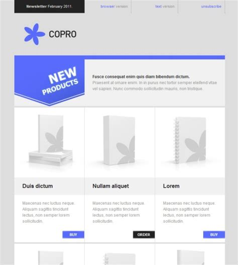 html email marketing templates 20 awesome premium html email newsletter templates best