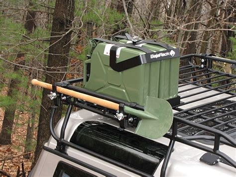 Jerry Can Holder Roof Rack by Jerry Can Holder Brackets For Land Rover Attach To Roof Rack