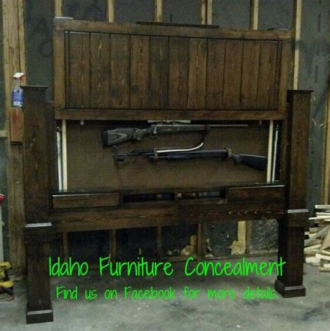 tactical headboard this is a king size gun concealment head board dimensions