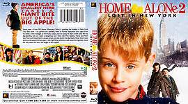 Bluray Original Home Alone Lost In New York scanned covers inner sanctum