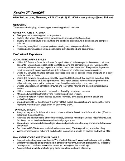 Ar Specialist Sle Resume by Accounts Receivable Specialist Resume Free Resumes Tips