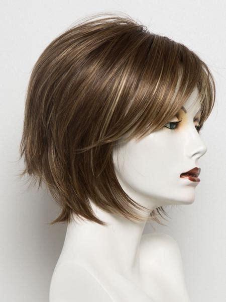 wigs hailey noriko short classic straight soft layer bob reese gradient
