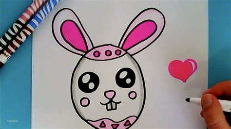 Kaos Bunny And Egg Basket Drawing unique easy easter bunny drawing with 15 exle pictures