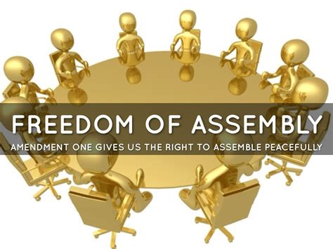 Freedom To Assemble Is Outlined In Which Amendment by The Amendment By Asad Merchant