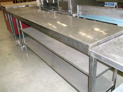 used stainless steel table with secondhand toilet units ser logistics ltd sussex