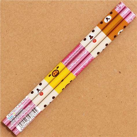 Squishy Crayon Pencil crayon 224 papier san x visages rilakkuma et du poussin