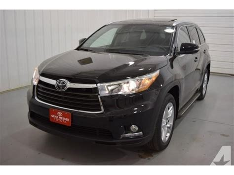 Toyota Awd For Sale 2015 Toyota Highlander Awd Limited 4dr Suv For Sale In
