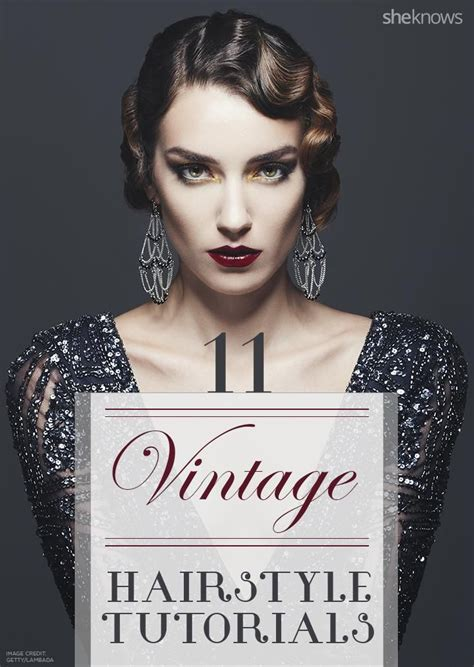 Vintage Bridal Hair Tutorial by 17 Best Ideas About Vintage Hairstyles On