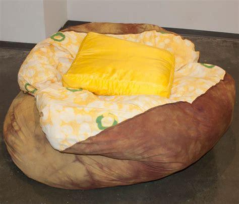 ll bean couch baked potato bean bag chair with butter pillow