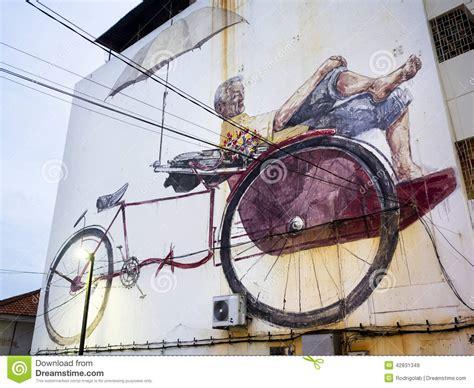 design art penang massive street art mural in georgetown penang malaysia