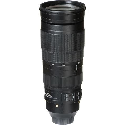 Nikon Af S 200 500 F5 6e Ed Vr nikon af s 200 500mm f 5 6e ed vr fx telefoto objektiv