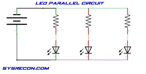 led resistor parallel how to use light emitting diodes led s sysrecon