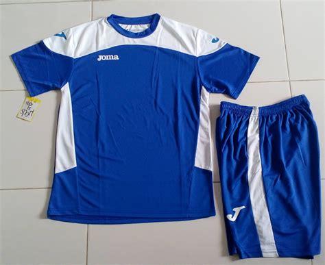 Setelan Jersey Kaos Futsal Adidas Garis Biru Putih joma new balamce nb setelan jersey kaos baju kostum stelan