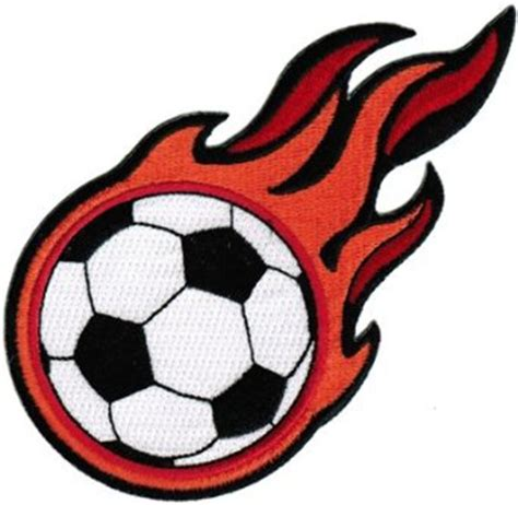 Free Clipart Flaming Soccer by Free Soccer Clipart Pictures Clipartix