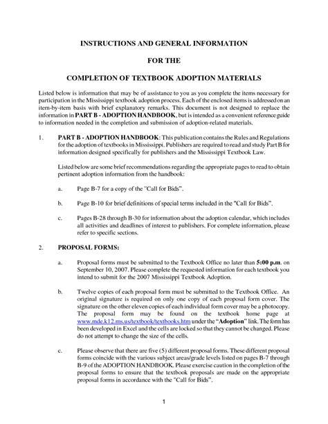 exle bid proposal word resume template download free