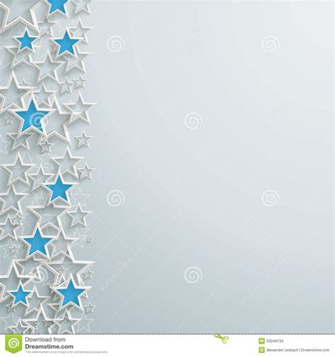 background design blue and white blue and white stars christmas design stock vector