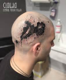 head tattoos designs and ideas