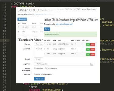 membuat website cms dengan php cara membuat website dinamis dengan php senikoding com