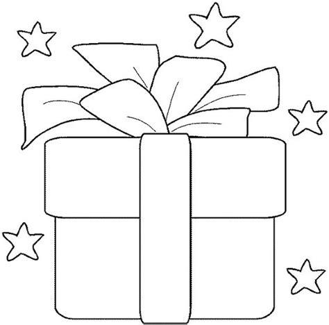imagenes de navidad para colorear regalos colorear dibujo regalo con lazo para navidad recursos