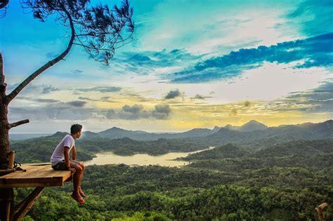 wisata alam kalibiru tempat wisata  kulon progo jogja
