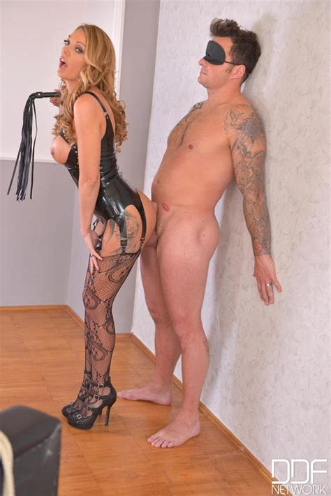 British Dominatrix Uses Stud For Pussy Pleasure Program Video With Stacey Saran Seth