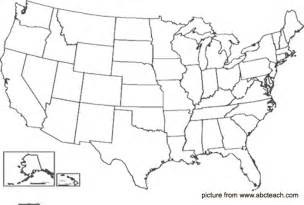 blank map of united states printable printable blank map of the united states for
