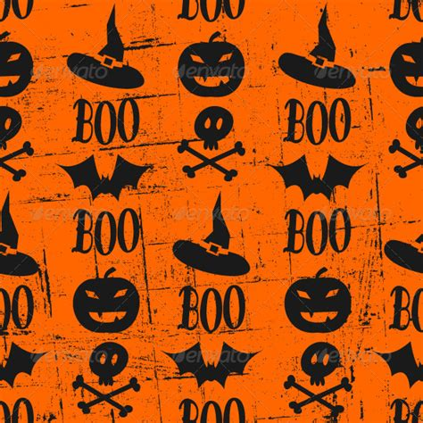 stock vector graphicriver seamless halloween background