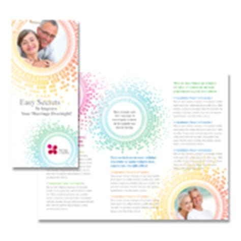 Marriage Counseling Tri Fold Brochure Template Counseling Brochure Templates