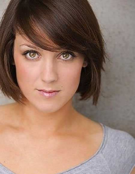 short brunette hairstyles bangs new short straight hairstyles short hairstyles 2017