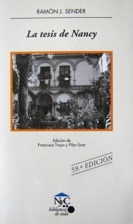 la tesis de nancy libro e pdf descargar gratis libro metodologia de la tesis descargar gratis pdf descargar la tesis de nancy epub mobi pdf libro