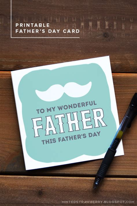 printable fathers day cards for to make 12 diy s day cards with free printables