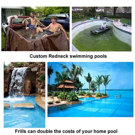 pricing the costs of a home swimming pool construction project