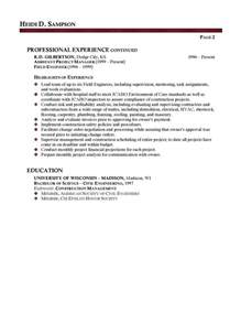 Facilities Manager Resume Sample example of addendum letter professional facilities