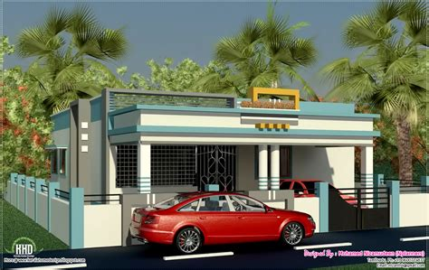 single floor house plans in tamilnadu new home design tamilnadu style single floor home design