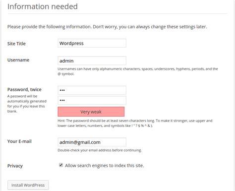 Cara Mudah Membuat Web Dengan Cms Word Press Pada Domain Dan Hosting cara membuat website dengan cms nulis ilmu