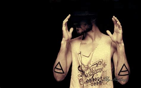 jared leto tattoos jared leto triad by missfringe on deviantart