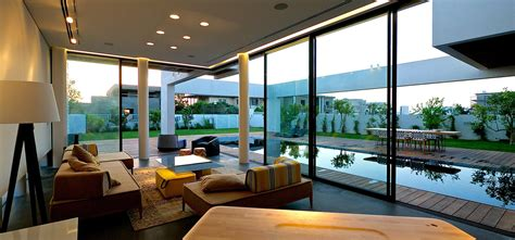 open living room design modern luxury villas designed by gal marom architects