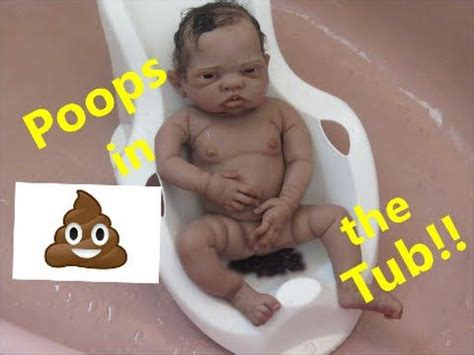 poop in bathtub silicone baby poops in bath tub i reborn baby dolls poop