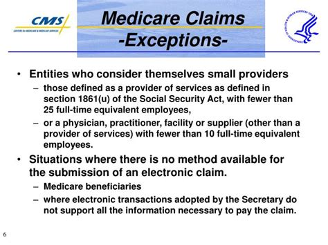 medicare provider eligibility section ppt hipaa powerpoint presentation id 760954