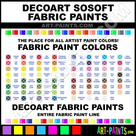decoart sosoft fabric textile paint colors decoart sosoft paint colors sosoft color sosoft