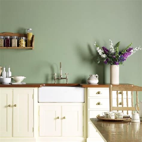 wall color white kitchen