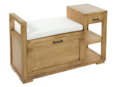 banca baul banco baul de madera estilo r 250 stico para pie de cama