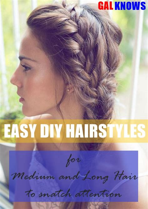 diy hairstyles for medium layered hair 101 easy diy hairstyles for medium and long hair to snatch